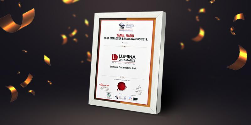 Tamil Nadu Best Employer Brand Award